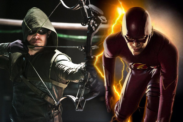 The Flash e Arrow 4