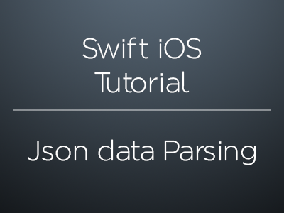 How to parse and extract json data in swift