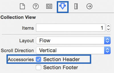 section header swift