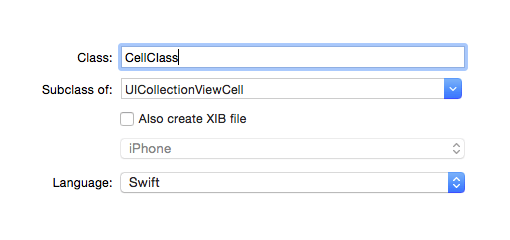 Swift: create new class