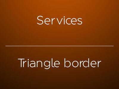 Triangle border css: triangle generator for css