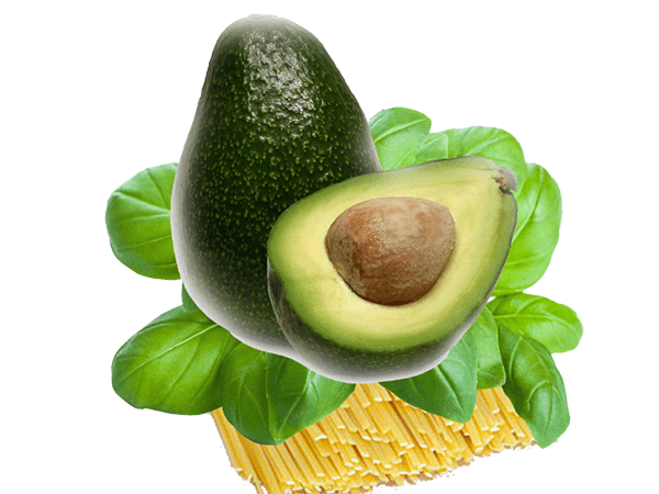 Bavette all'avocado