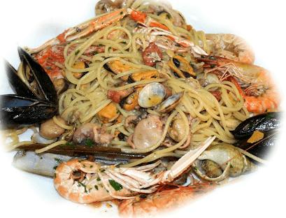 Pasta ai frutti di mare