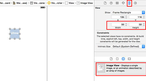 UIImage set image size in Swift
