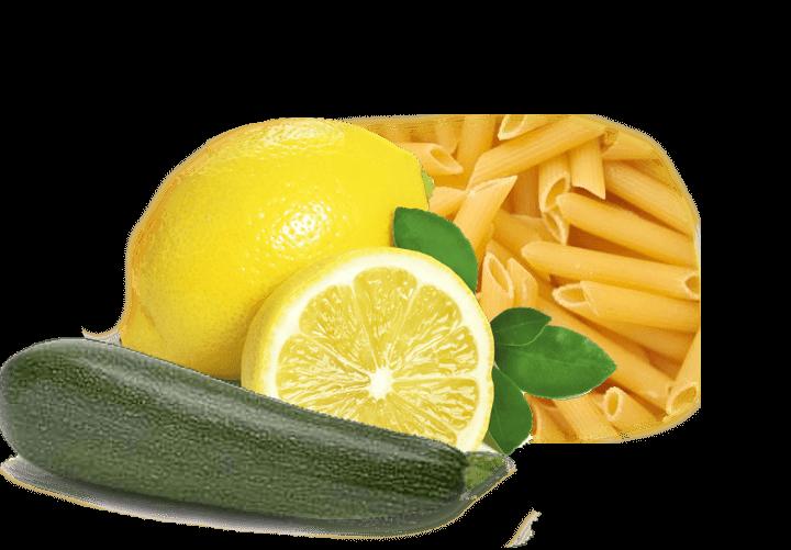 Pasta alle zucchine e limone